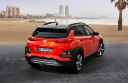 Hyundai Kona, 2017, rear, static
