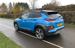 Hyundai Kona, 2018, rear