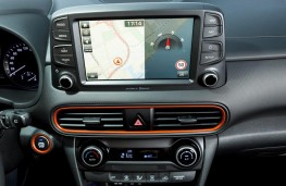 Hyundai Kona, 2017, display screen