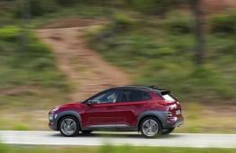 Hyundai Kona 1.6 CRDi, 2018, side, action