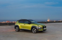 Hyundai Kona, side, static