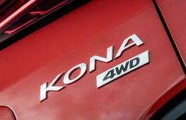 Hyundai Kona Premium GT, 2017, badge