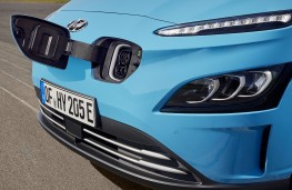 Hyundai Kona Electric, 2020, charging point