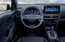 Hyundai Kona Hybrid, 2019, dashboard
