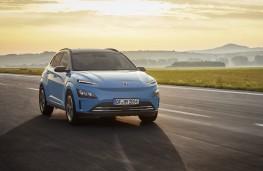 Hyundai Kona Electric, 2020, front, action