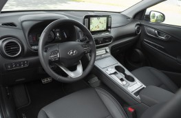 Hyundai Kona Electric, 2018, interior