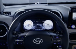 Hyundai Kona Electric, 2018, instrument panel