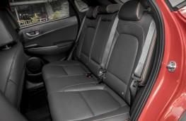 Hyundai Kona Premium GT, 2017, rear seats