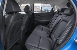 Hyundai Kona Hybrid, 2019, rear seats