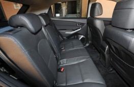 SsangYong Korando, 2017, rear seats
