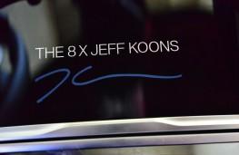 Jeff Koons, BMW 8 Series, 2021, signature