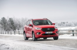 Ford Kuga, 2017, front, action