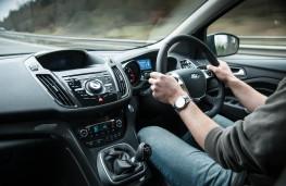 Ford Kuga, interior, driven