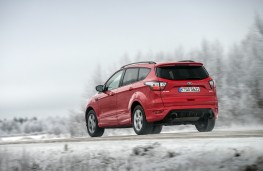 Ford Kuga, 2017, rear, action