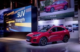 Ford Kuga ST-Line, 2019, side, Go Further