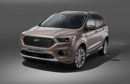 Ford Kuga Vignale, 2016, front