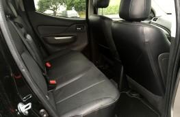 Mitsubishi L200 Warrior, rear seats
