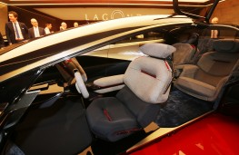 Aston Martin Lagonda Vision Concept, 2018, interior