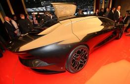 Aston Martin Lagonda Vision Concept, 2018, rear