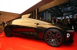 Aston Martin Lagonda Vision Concept, 2018, front