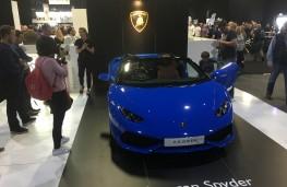 London Motor Show, 2016, Lamborghini Huracan