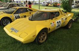 Cholmondeley Power and Speed 2016, Lancia Stratos, 1975