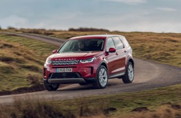 Land Rover Discovery Sport, front action