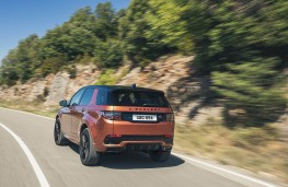 Land Rover Discovery Sport, rear action