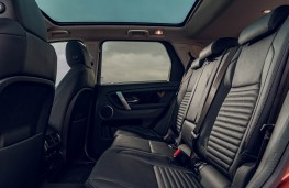 Land Rover Discovery Sport, rear seats