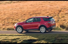 Land Rover Discovery Sport, side action