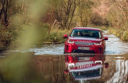 Land Rover Discovery Sport, water wade