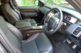 Land Rover Discovery, front seats