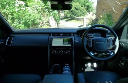 Land Rover Discovery, dashboard