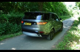 Land Rover Discovery, rear static