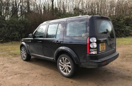 Land Rover Discovery, rear