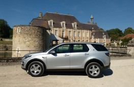 Land Rover Discovery Sport, chateau 2