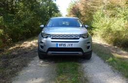 Land Rover Discovery Sport, forest front