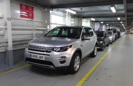 Land Rover Discovery Sport, on ferry