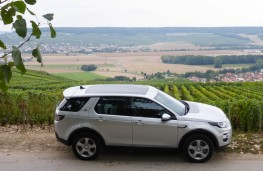 Land Rover Discovery Sport, vineyards