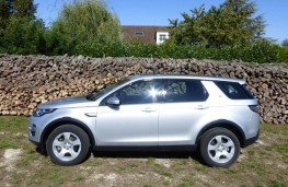 Land Rover Discovery Sport, woodyard