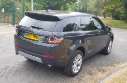 Land Rover Discovery Sport TD4 HSE, rear