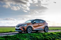 Renault Captur, front