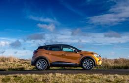 Renault Captur, side