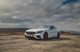 Mercedes AMG S 63 Coupe, front