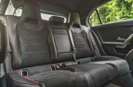 Mercedes-Benz A 180 d AMG Line, interior, rear
