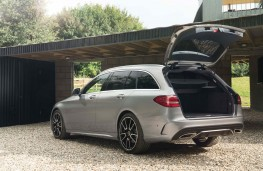 Mercedes C-Class Estate, boot