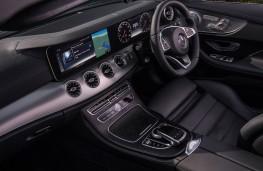 Mercedes Benz E-Class cabriolet, interior