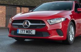 Mercedes-Benz A-Class, front