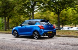 Suzuki Swift Sport, rear