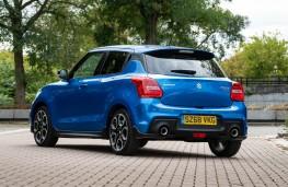 Suzuki Swift Sport, rear